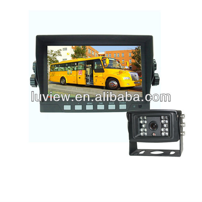 7 inch car rear view system for trucks and vehicles