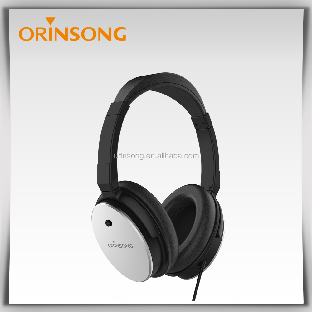 Cheap Aircraft noise cancelling headset Airlines Headphones for General Airplane