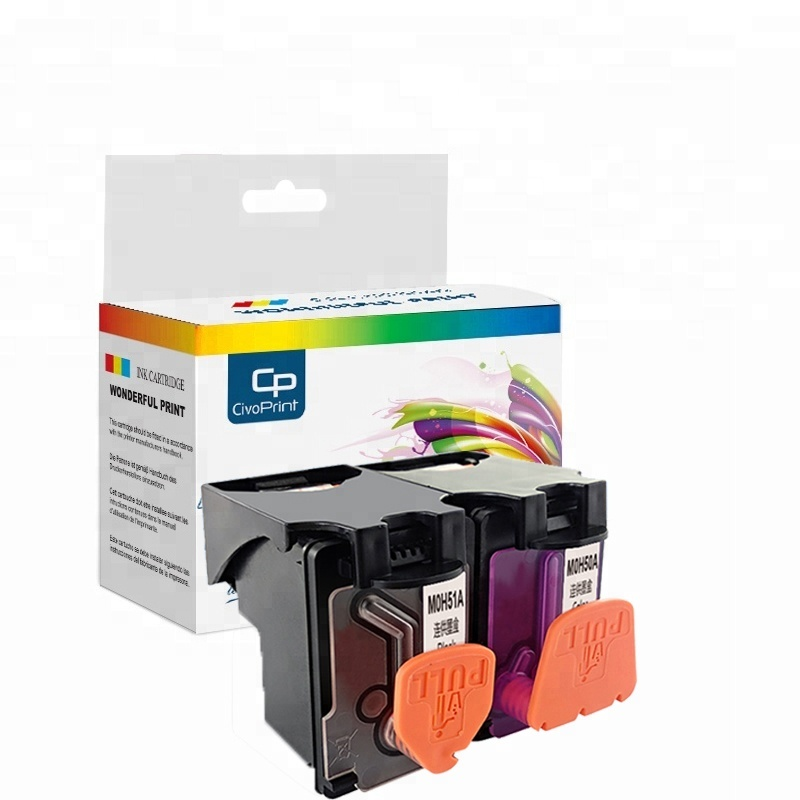 Civoprint Color Moh50a Black Moh51a Ink Cartridge Compatible Counter Chip  Ciss Ink Cartridge Deskjet Gt 5810 Gt 5820 Printer - Buy Color