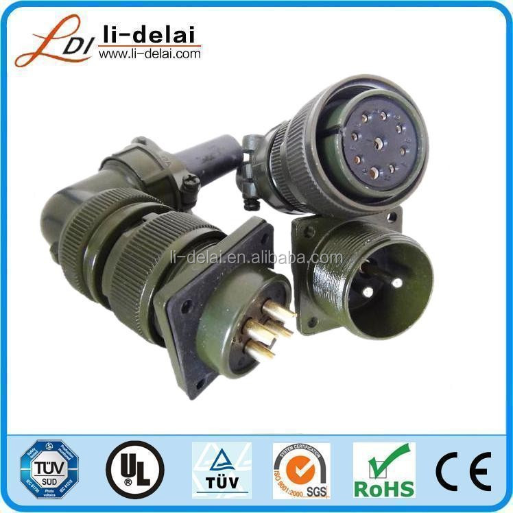 5015 series military 4pin 5pin male female connector MS3102 MS3106 MS3108 MS3101 Amphenol military connector