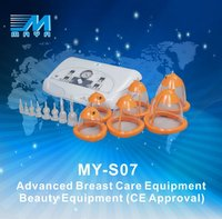 Manufacturer! MY-S07 breast nipple sucking beauty device, vacuum massage cupping machine