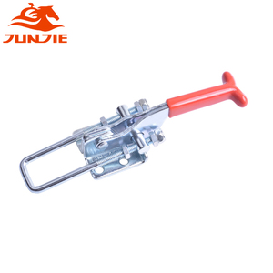 Quick locking latch toggle clamp for machinery