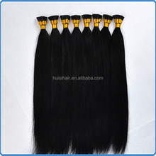 "Free shipping fusion hair extension in bulk on alibaba.com 18"" 20"" 22"" sew in stick tip hair weave"