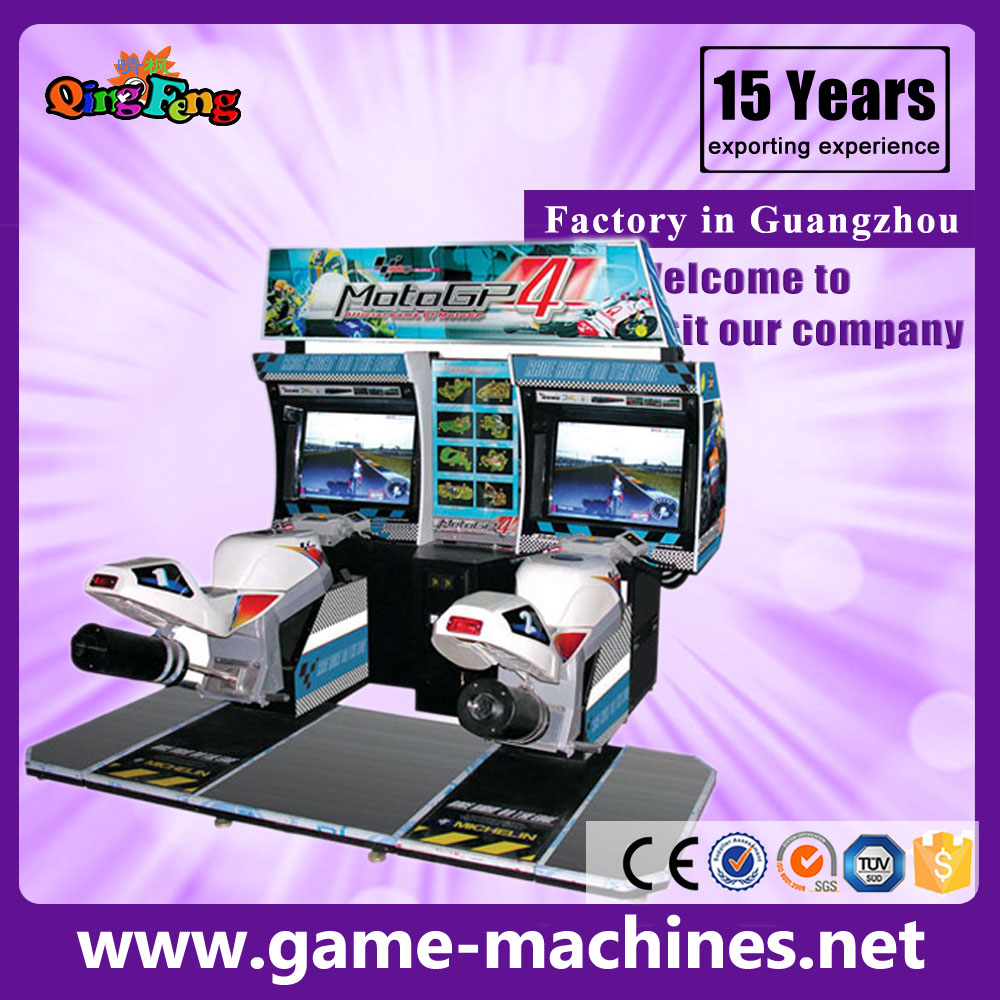 GP motor-simulator attack motor-car racing game machine
