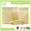Packaging bag for dry food zipper box pouch kraft paper bag