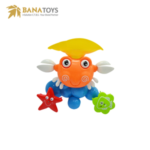 Free shipping Intelligence crab baby toy bath