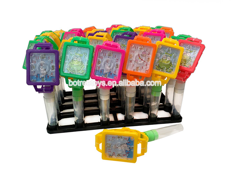 Rectangular Watch Sugar Tube Toy Sweet Candy Filled Toys