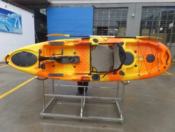 ocean new fishing boat sit on top fishing kayak with pedal