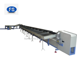 fruit vegetable washing waxing and selection machine made in Fushi packing company