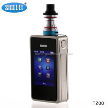 sigelei T200 vs Vape Triade authentic sigelei and TITAN V2
