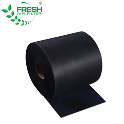 Non-woven Activated Carbon Fiber Fabric Price Air Filter Media Roll Carbon Active Filter