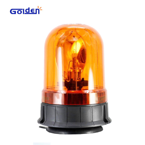 Amber halogen revolving construction truck warning hazard alert signal industrial caution strobe beacon
