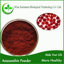 Top quality natural astaxanthin pulver wholesale