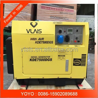 low price high quality made in china factory supplier diesel generator 7.5 kva