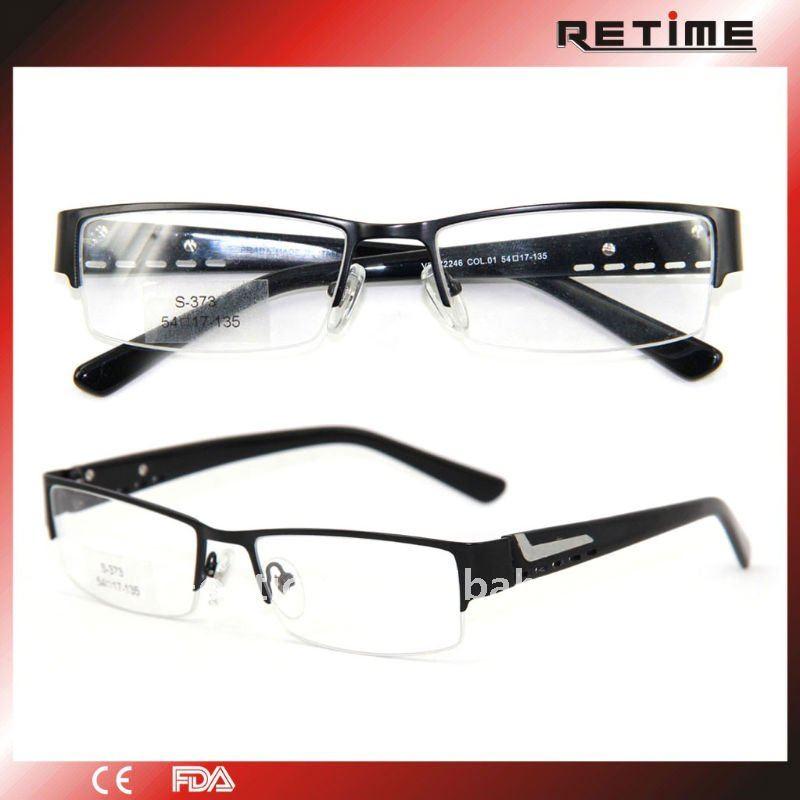 Cool Men\'s Half-rim Glasses Frame Japan(s-373) - Buy Glasses Frame ...