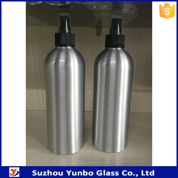 16oz 500ml hot sale aluminum boston round bottles for essential oil, chemicals