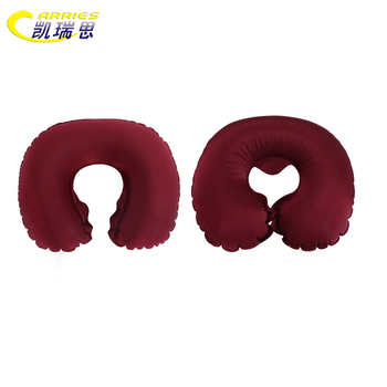 Outdoor Leisure Portable U Shape Rest Super Soft Neck Support Air Travel Pillow