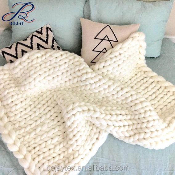 Hilos de ganchillo manta de lana de Merino de Australia de 100% lana ...