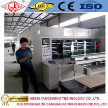 China supply flexo printer slotter die-cutter machine with good price