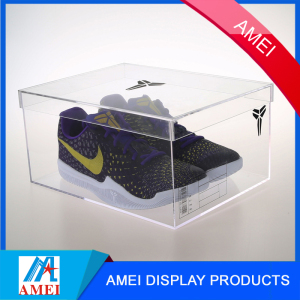 Acrylic,3MM arcylic Material shoe acrylic display box