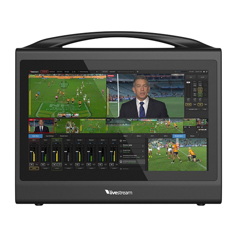 Livestream Studio HD550 4K   Compact Portable Live Production Switcher