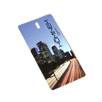 Sinicline New Products 2018 Luxury CMYK Printing Personalized Hang Tag