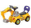cheap kids ride on car / children excavator / baby slide car with light and music