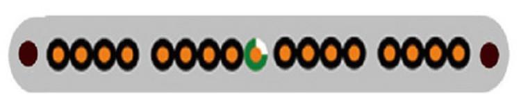 Copper TVVBP 36*0.75+2*2P*0.75 elevator travel cable