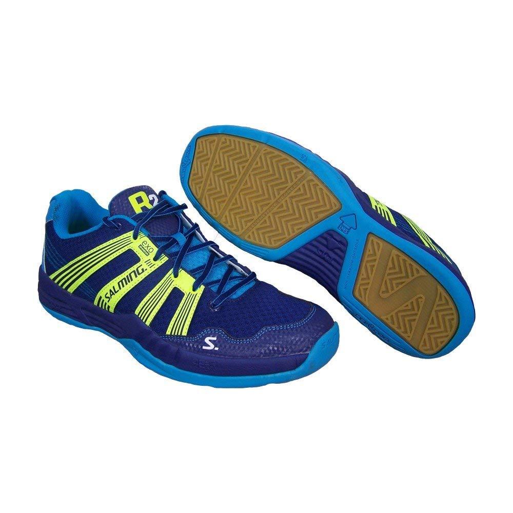 Salming Race R2 3.0 Mens Court Shoes, US Shoe Size- 8 US / 7 UK, Color- Navy