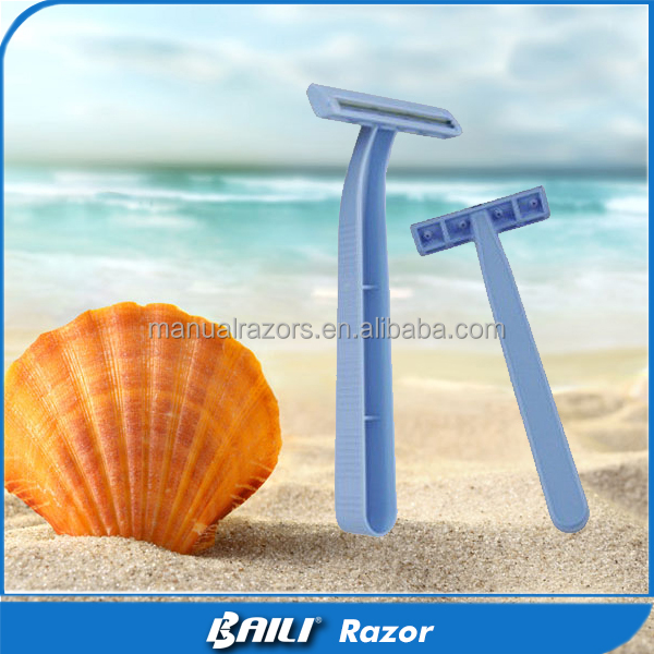 Free Sample Pack Razor Machine Disposable Twin Blade Shaver Mens Razors