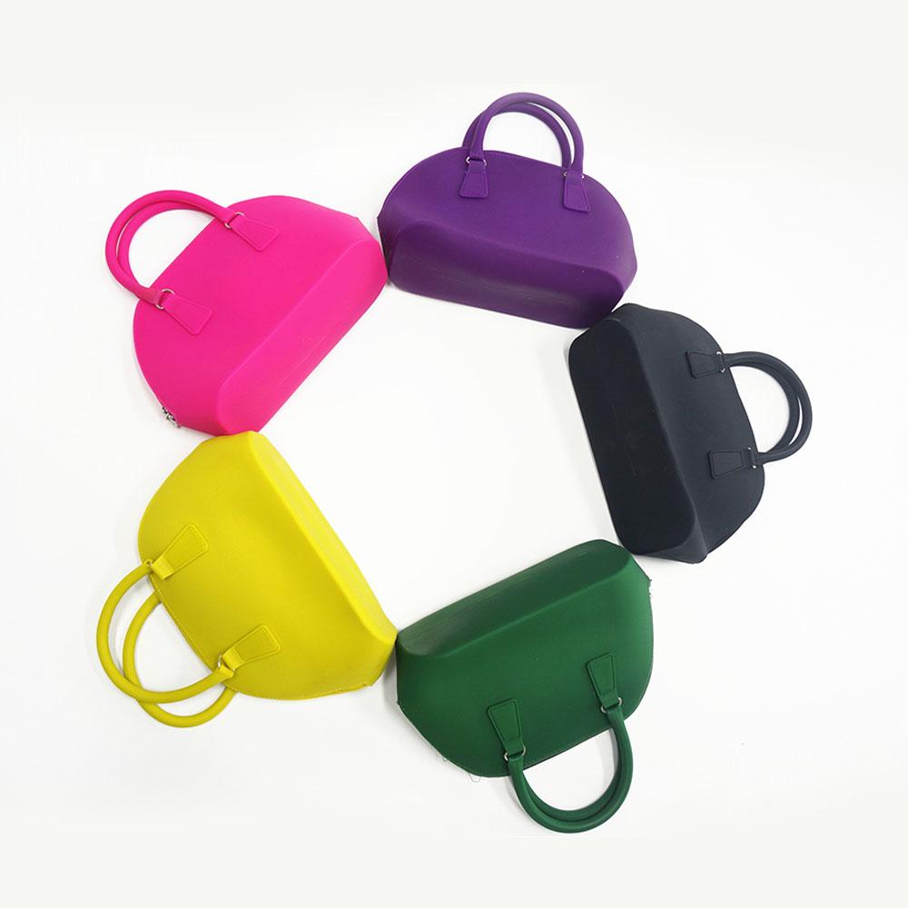 High Fashion Silicone Shopping Bag Waterproof Beach Bags Women Handbags