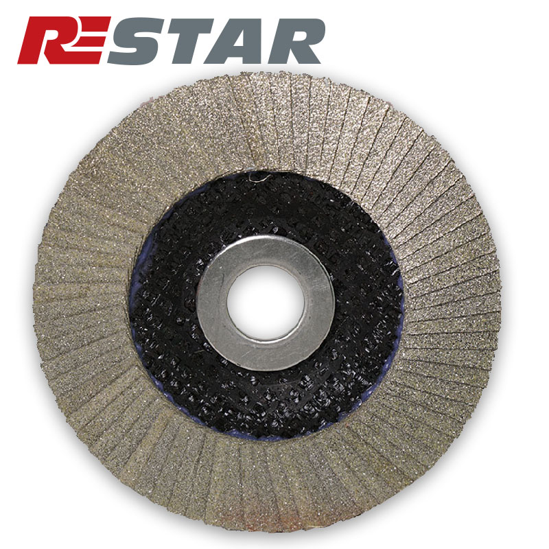Extra Sharp Diamond Flap Disc For Grinding and Polishing
