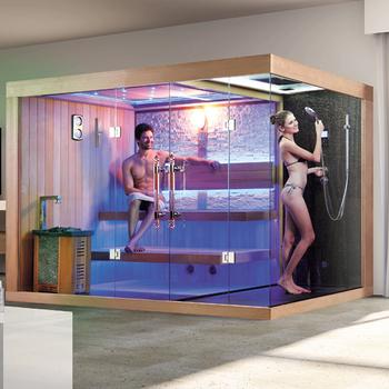 Sauna  PersonnesSauna Maison Avec Salle De Douche Personne Sauna