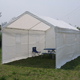 factory price Steel Frame Double Car Shelter tent pvc coated