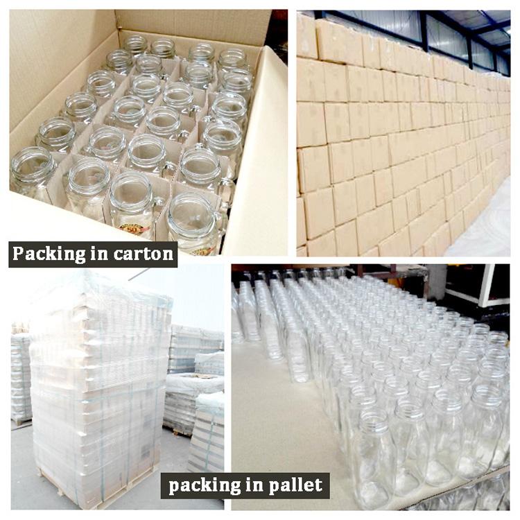 Food Grade Vintage 1 Litro di Latte Bottiglia di Vetro di Forma Quadrata Con La Protezione di Plastica Per Il Succo Spremuto