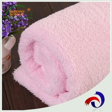 Alibaba china textiles soft and smooth polyester cotton blend fabric for blanket clothing