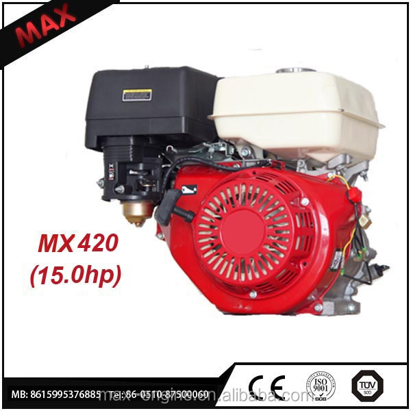 420cc 15.0hp Small OHV Single Cylinder Gasoline Outboard Engine 182F For Home