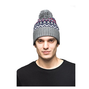 5e0b8622b77 Funny Knitted Beanie Hat