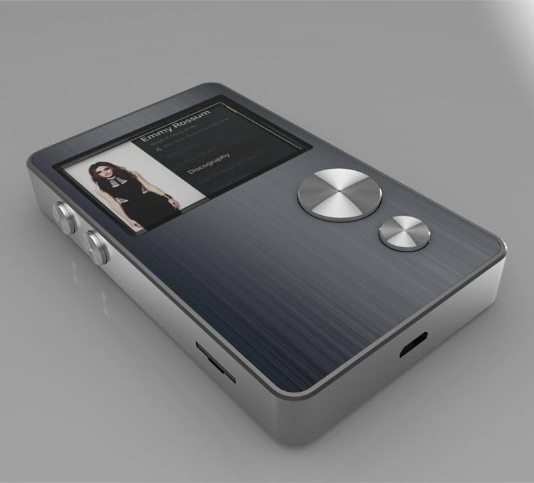 China Factory Price 16GB Full Metal Professional Lossless HIFI Music Player MP3 Player With High-capacity 256GB