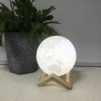 Holiday 3D Home Decoration Kids Moon Lamp Table Night Lights
