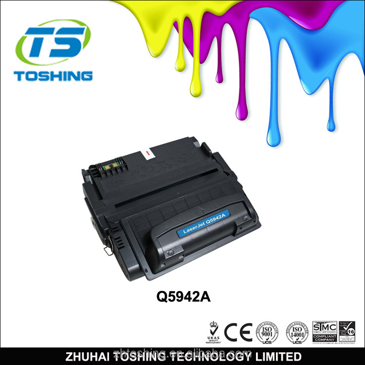 Laser Toner Cartridge for hp BLACK Premium Alternative Q5942A