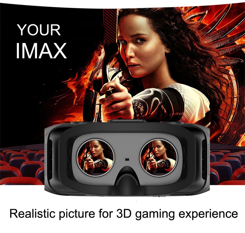 Good quality All in One vr 3d Glasses Virtual Reality Headset 3d Glasses VR with WIFI,BT and TF card supported