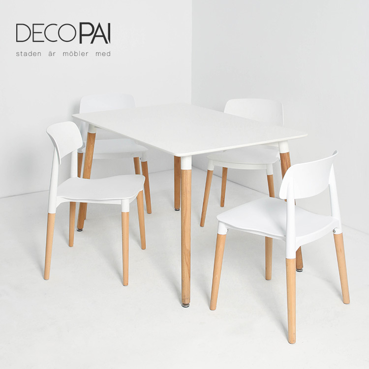 2020 New Design Custom Nordic Style Modern Coffee Restaurant Beech Wood Legs Mdf Table Top Rectangle Dining Table And Chair Set Buy Dining Table Chair Modern Dining Table Set Restaurant Table Product On