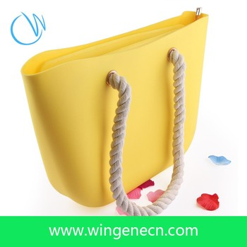 Wholesale Girls Large Bag Silicone Beach Tote Bag - Buy Silicone ...