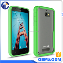 China Cheap Wireless Accessories High Quality Acrylic Hard Back Cover Tpu Bumper Phone Case For Coolpad Defiant 3632