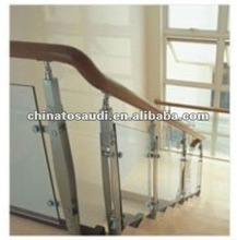 2012 New design stainless steel balustrade with glass for home