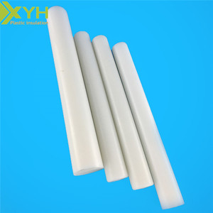 engineering plastic White & black wear-resistance POM plastic rod bar