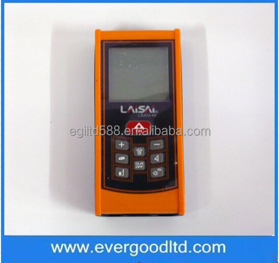 New LAISAI LS203-40 Handheld Laser Range Finder / Electronic Foot 40 Meters Laser Distance Tester