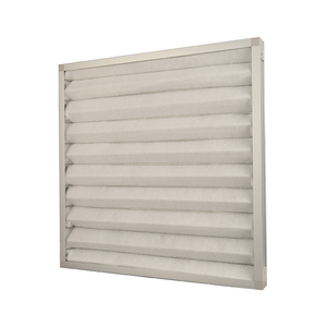 G4 pleated panel air pre filter for AHU ventilation system