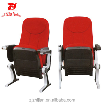 Theater Furniture Type and Fabric Material Movable Cinema Chair Folding Theater Seat with Cup Holder  sc 1 st  Alibaba & Theater Furniture Type And Fabric Material Movable Cinema Chair ...